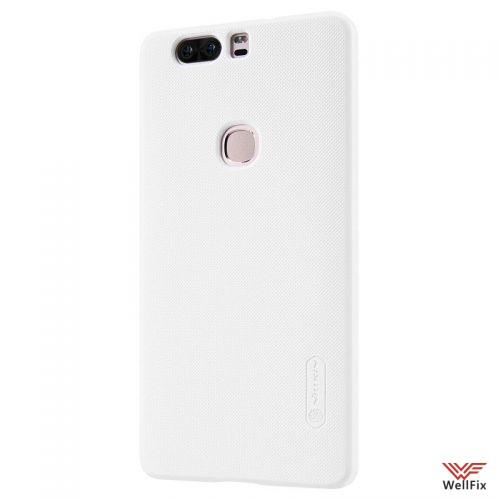 Чехол Huawei Honor V8 белый (Nillkin, пластик) - 3