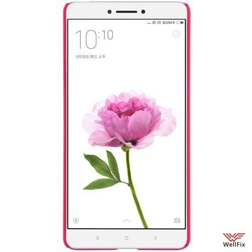 Чехол Xiaomi Mi Max красный (Nillkin, пластик) - 4