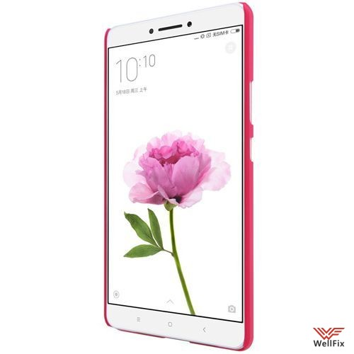 Чехол Xiaomi Mi Max красный (Nillkin, пластик) - 1