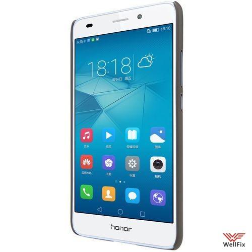 Чехол Huawei Honor 5c черный (Nillkin, пластик) - 4