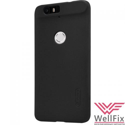 Чехол Huawei Nexus 6P черный (Nillkin, пластик) - 2