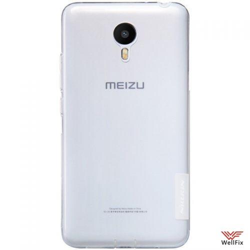 Чехол Meizu Metal белый (Nillkin, силикон) - 2