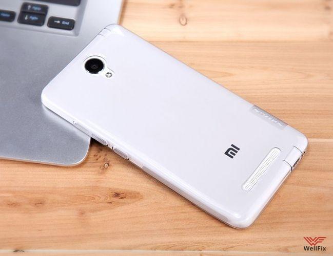 Чехол Xiaomi Redmi Note 2 белый (Nillkin, силикон) - 6
