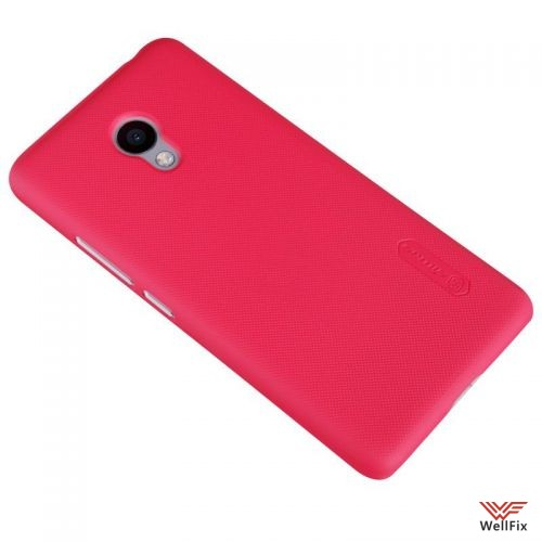 Чехол Meizu M3s Mini красный (Nillkin, пластик) - 3