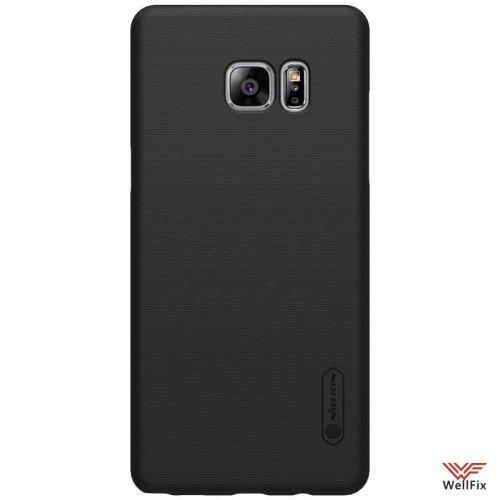Чехол Samsung Galaxy Note 7 черный (Nillkin, пластик) - 4
