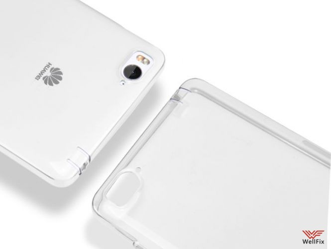 Чехол Xiaomi Mi4i белый (Nillkin, силикон) - 2