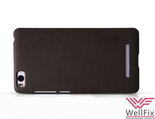 Чехол Xiaomi Mi4i черный (Nillkin, пластик) - 1