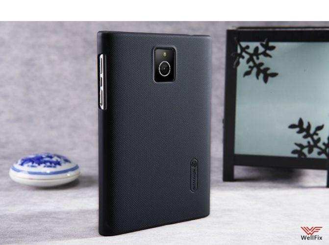 Чехол BlackBerry Passport черный (Nillkin, пластик) - 1
