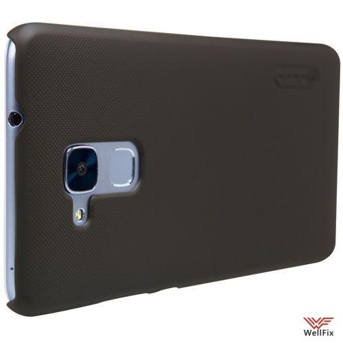 Чехол Huawei Honor 5c черный (Nillkin, пластик) - 1