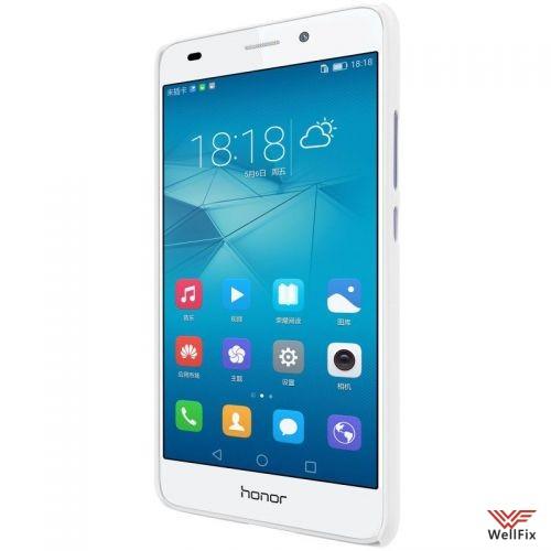 Чехол Huawei Honor 5c белый (Nillkin, пластик) - 3