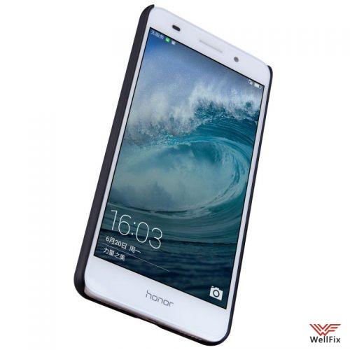 """Чехол Huawei Honor 5A  5.5"""" черный  (Nillkin, пластик) - 4"""