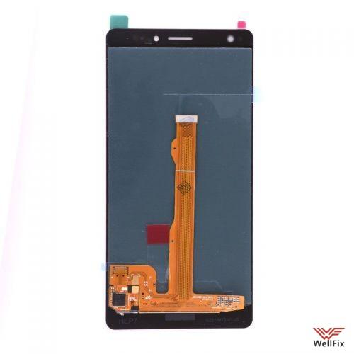 Дисплей Huawei Mate S с тачскрином черный - 1