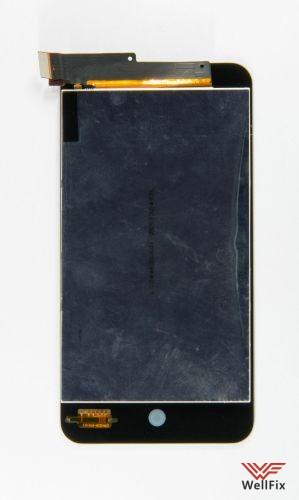 Дисплей Meizu MX2 с тачскрином черный - 1