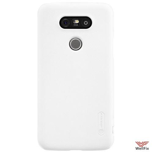 Чехол LG G5 H845 белый (Nillkin, пластик) - 1