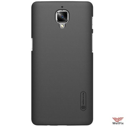 Чехол OnePlus 3 черный (Nillkin, пластик) - 3