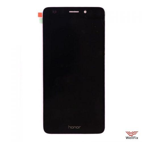 Дисплей Huawei Honor 5c с тачскрином черный - 1