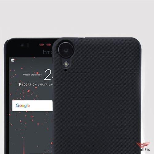 Чехол HTC Desire 825 черный (Nillkin, пластик) - 1