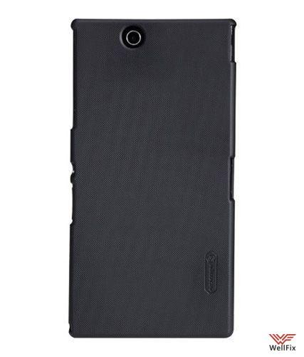 Чехол Sony Xperia Z Ultra C6833 черный (Nillkin, пластик) - 1