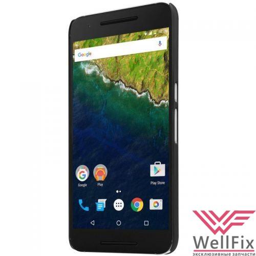 Чехол Huawei Nexus 6P черный (Nillkin, пластик) - 1