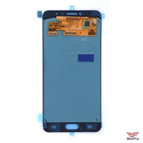 Дисплей Samsung Galaxy C7 с тачскрином черный - 1