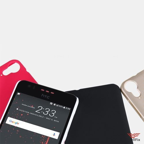 Чехол HTC Desire 825 черный (Nillkin, пластик) - 2