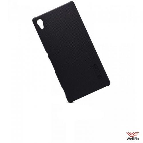 Чехол Sony Xperia Z3+, Z4 черный (Nillkin, пластик) - 2