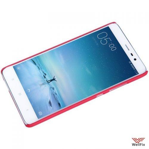 Чехол Xiaomi Redmi Pro красный (Nillkin, пластик) - 3