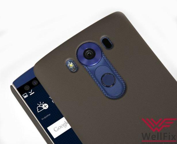 Чехол LG V10 черный (Nillkin, пластик) - 1