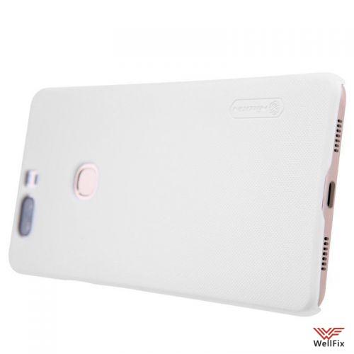 Чехол Huawei Honor V8 белый (Nillkin, пластик) - 4