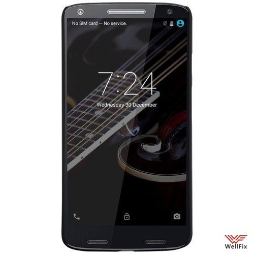 Чехол Motorola Moto X Force черный (Nillkin, пластик) - 1