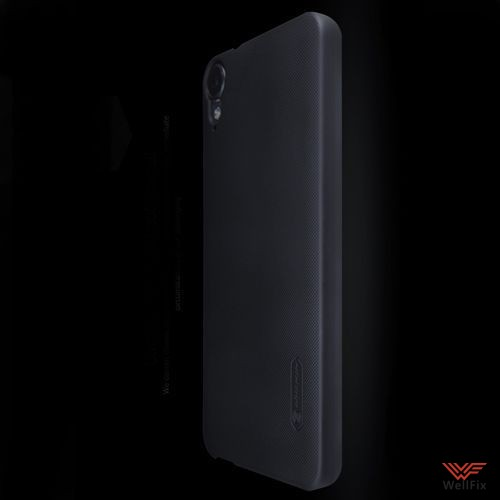 Чехол HTC Desire 825 черный (Nillkin, пластик) - 3