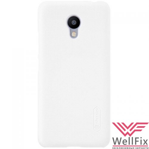 Чехол Meizu Pro 5 белый (Nillkin, пластик) - 1