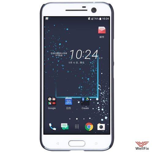Чехол HTC 10 Lifestyle черный (Nillkin, пластик) - 1