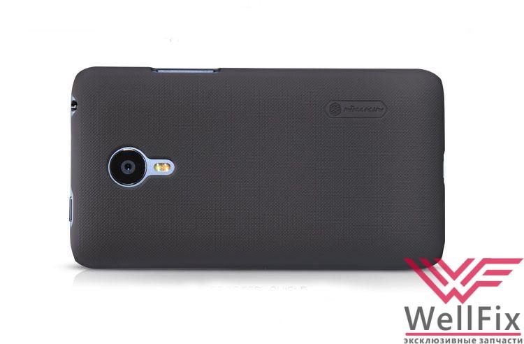 Чехол Meizu MX4 черный (Nillkin, пластик) - 1