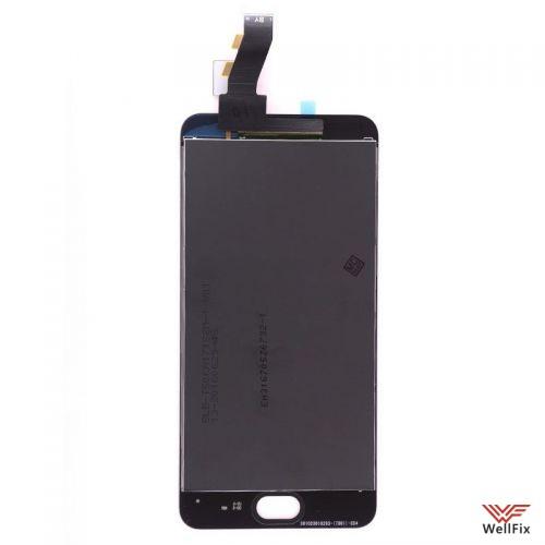 Дисплей Meizu M3 с тачскрином черный - 1