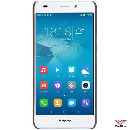 Чехол Huawei Honor 5c черный (Nillkin, пластик) - 2