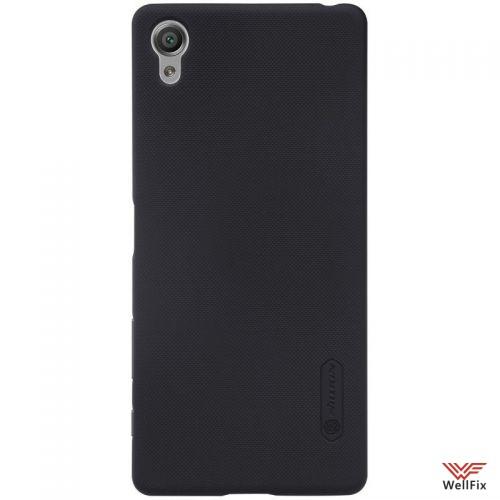 Чехол Sony Xperia X Performance черный (Nillkin, пластик) - 2