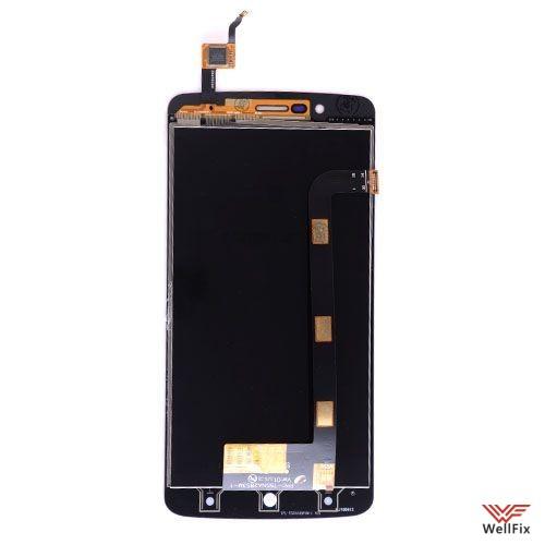Дисплей Elephone P8000 с тачскрином черный - 1