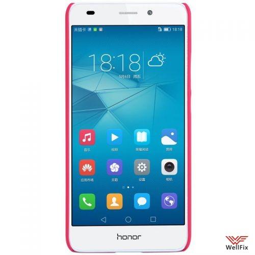 Чехол Huawei Honor 5c красный (Nillkin, пластик) - 2