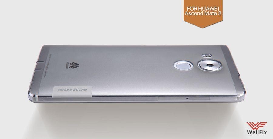 Чехол Huawei Mate 8 белый (Nillkin, силикон) - 1
