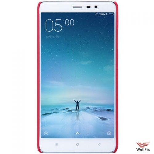 Чехол Xiaomi Redmi Pro красный (Nillkin, пластик) - 2