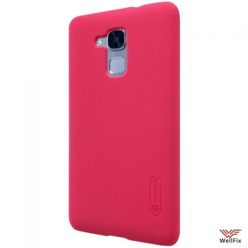 Чехол Huawei Honor 5c красный (Nillkin, пластик) - 4