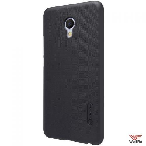 Чехол Meizu MX6 черный (Nillkin, пластик) - 5