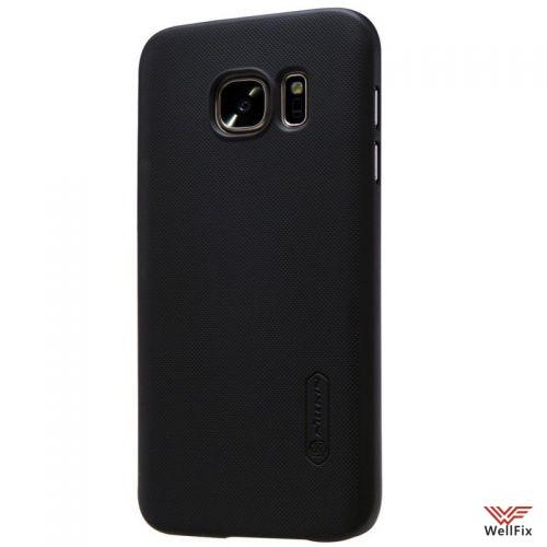 Чехол Samsung Galaxy S7 черный (Nillkin, пластик) - 3