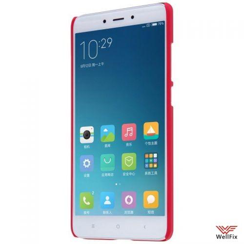 Чехол Xiaomi Redmi Note 4 красный (Nillkin, пластик) - 3
