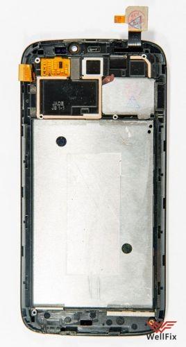 Дисплей Acer Liquid Jade с тачскрином черный - 1