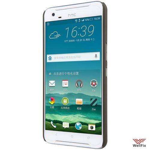 Чехол HTC One X9 черный (Nillkin, пластик) - 1