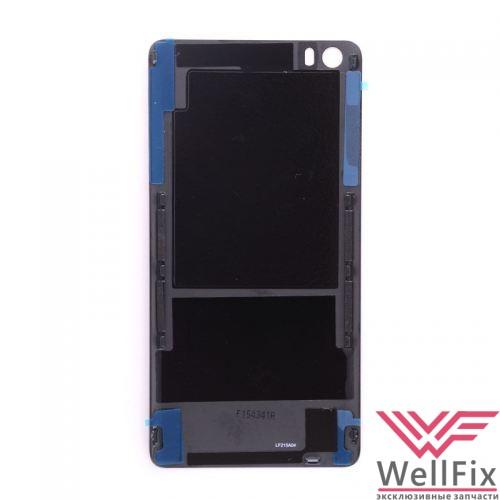 Крышка аккумулятора Xiaomi Mi Note черная (стекло) - 1
