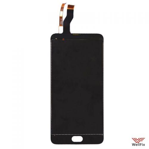 Дисплей Meizu M3 Note M681H с тачскрином черный - 1