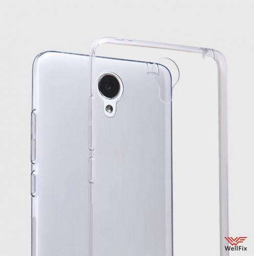 Чехол Xiaomi Redmi Note 2 белый (Nillkin, силикон) - 3